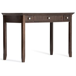 Writing Desk in Tobacco Brown