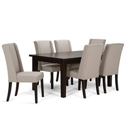 7 Piece Dining Set in Natural