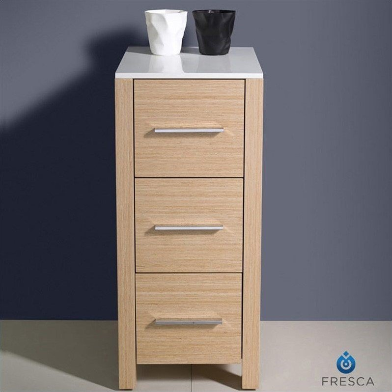 side cabinet bathroom fresca torino bathroom linen side cabinet in light oak 26115