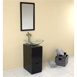 Fresca Stella Brilliante Bathroom Vanity in Espresso