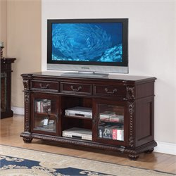 ACME Furniture Anondale TV Stand in Cherry