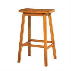 Gaucho Stool in Antique Oak