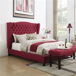 Faye Bed in Red