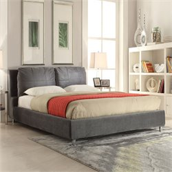 Bywilde Bed in Dark Olive Gray