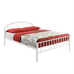 Cailyn Bed in White