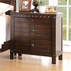 ACME Furniture Brooklyn Nightstand in Espresso
