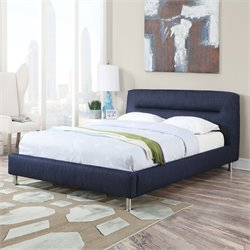 Adney Bed in Blue Denim