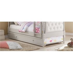 ACME Furniture Pearlie Twin Trundle in Gray