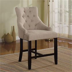 Drogo Dining Chair Cream/Walnut