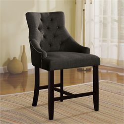 Drogo Dining Chair Gray/Walnut
