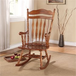ACME Furniture Kloris Rocking Chair in Dark Walnut