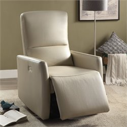 Raff Leather-Aire Power Motion Recliner