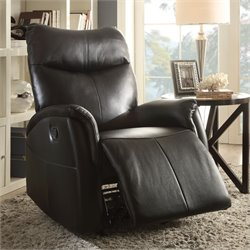Acme Riso Leather-Aire Rocker Recliner