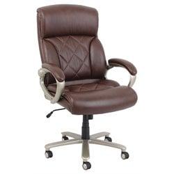 ACME Furniture Karl Bonded Leather Pneumatic Lift Office Chair