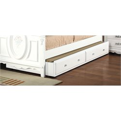 ACME Flora Trundle in White