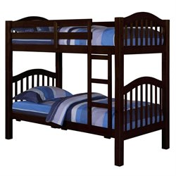 ACME Heartland Twin over Twin Bunk Bed in Espresso