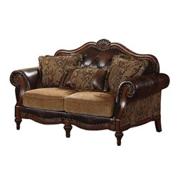 ACME Dreena Loveseat with 3 Pillows in Floral