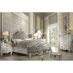 ACME Versailles Queen Wings Bed-SH