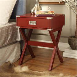 ACME Babs End Table in Red