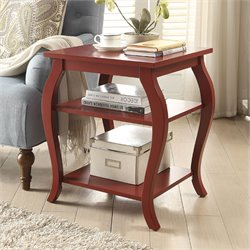 ACME Becci End Table in Red