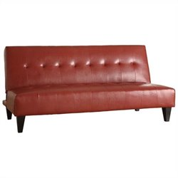 ACME Furniture Conrad Adjustable Sofa in Red