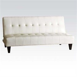 ACME Furniture Conrad Adjustable Sofa in White