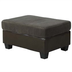 ACME Furniture Connell Ottoman in Olive Gray