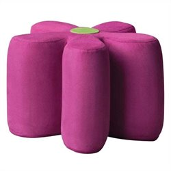 ACME Furniture Lucy Youth Ottoman in Pink