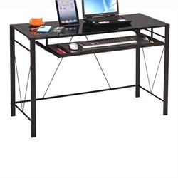 ACME Furniture Esta Computer Desk in Black