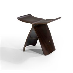 AEON Furniture Keno Accent Table in Walnut