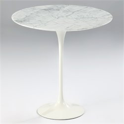 Catalina Marble Side Table