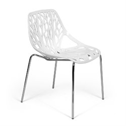 AEON Furniture Bella Dining Chair in White (Set of 2)