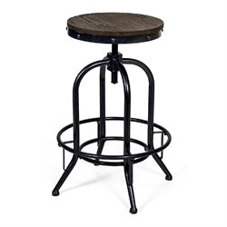 Hilton Adjustable Bar Stool