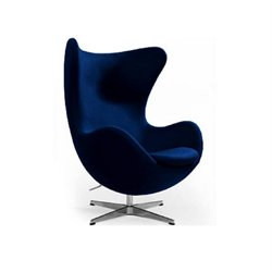 AEON Furniture Columbia Lounge Chair in Navy