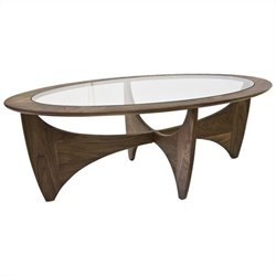 AEON Furniture Angela Coffee Table in Walnut