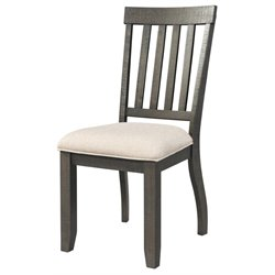Elements Stanford Side Chair in Dark Ash (Set of 2)