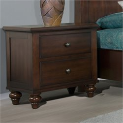 Elements Channing Nightstand in Cherry