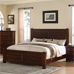Elements Danner Storage Bed in Chestnut