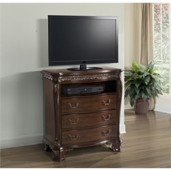 Elements Victoria Media Chest in Dark Chestnut