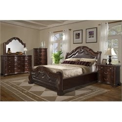 Elements Tomlyn 4 Piece Bedroom Set