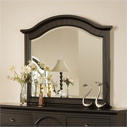 Elements Brook Mirror in Black