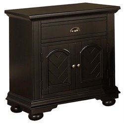 Elements Brook Nightstand in Black