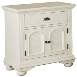 Elements Brook Nightstand in Cottage White