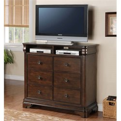 Elements Cameron TV Stand in Traditional Cherry