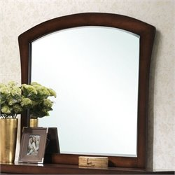 Elements Jenny Arched Mirror in Espresso