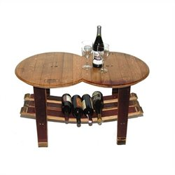 Napa East Collection Barrel Head Coffee Table