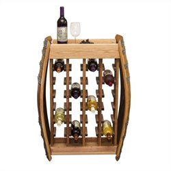 Napa East Collection 24 Bottle Narrow Rack