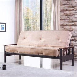 Primo International Appleton Futon in Cappucino