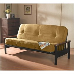 Primo International Bismark Futon in Camel