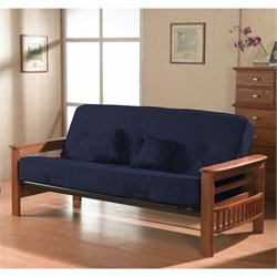 Primo International Orlando Futon in Cobalt